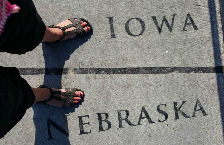 Iowa Nebraska Feet