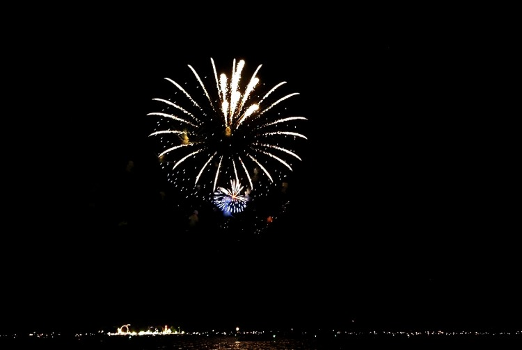 Clear Lake Fire works