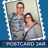 Postcard Jar
